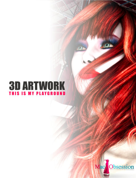 3D Artwork - This Is My Playground