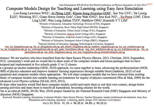 Computer Models Design for Teaching and Learning U...