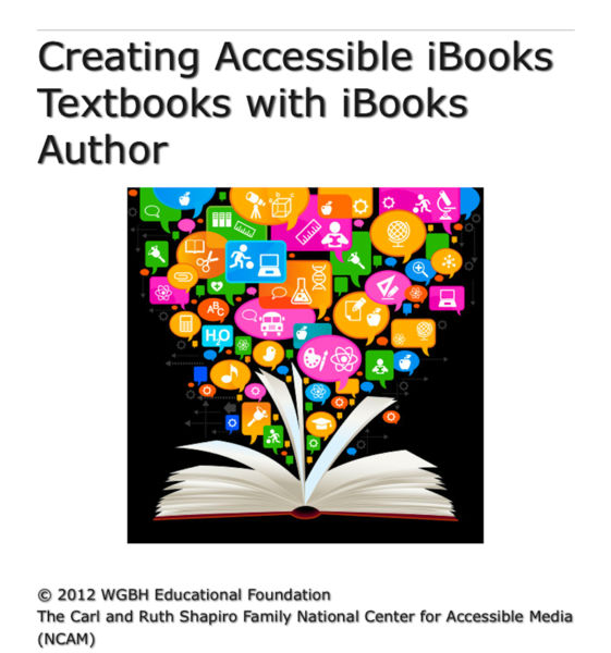 Creating Accessible iBooks Textbooks with iBooks A...