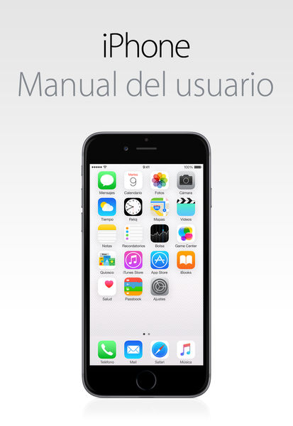 Manual del usuario del iPhone para iOS 8.1