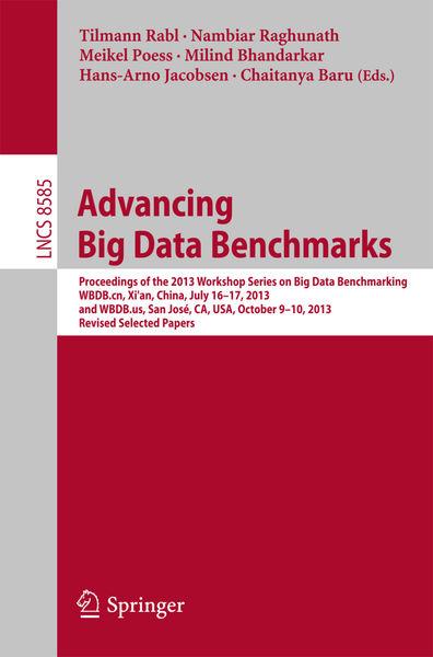 Advancing Big Data Benchmarks