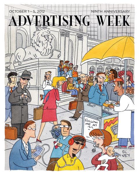 Advertising Week October 1-5, 2012