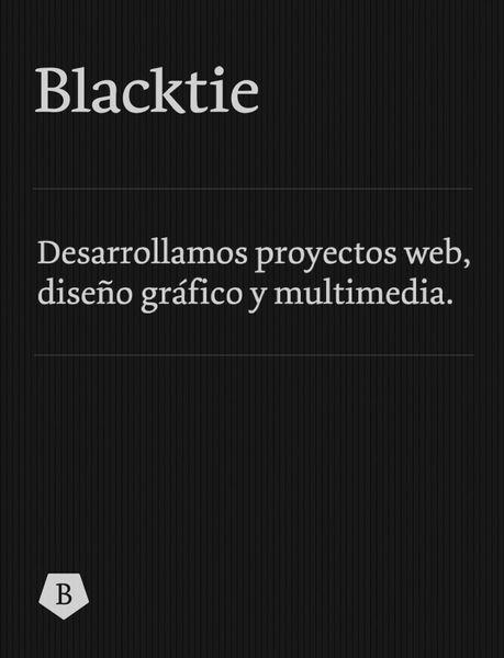 Blacktie Portfolio