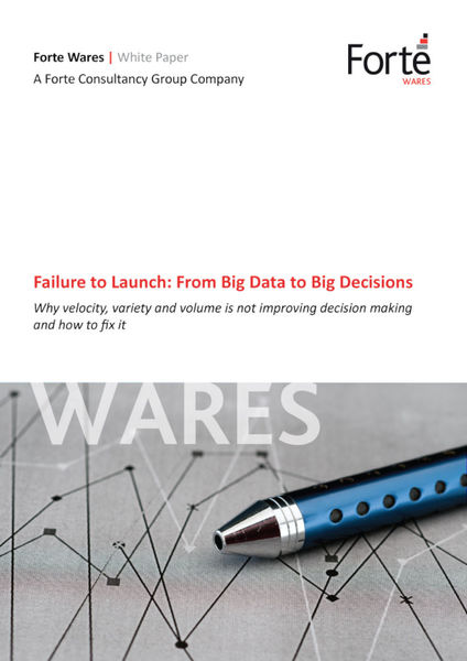 Failure to Launch: From Big Data to Big Decisions