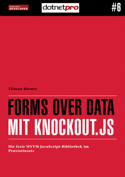 Forms over Data mit Knockout.js
