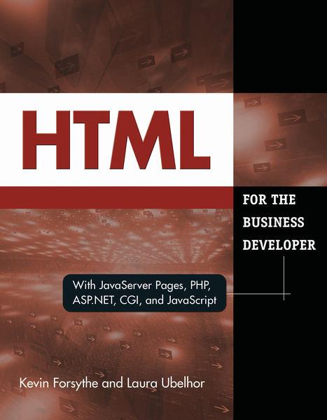 HTML for the Business Developer