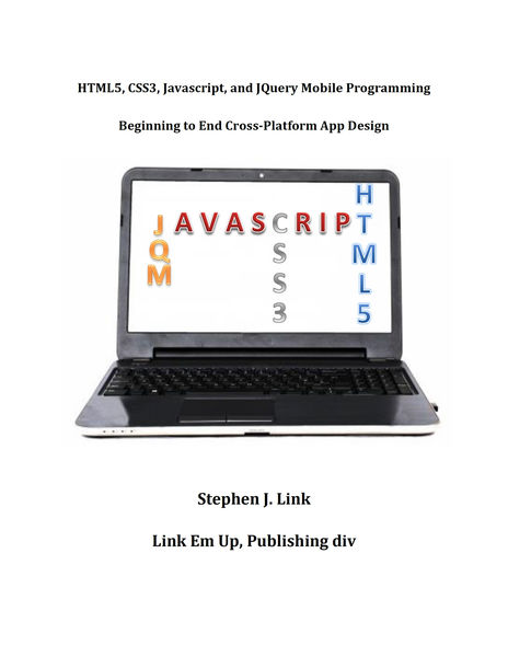 HTML5,CSS3,Javascript and JQuery Mobile Programmin...