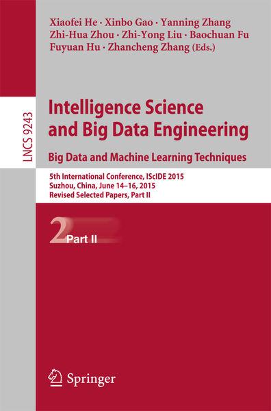 Intelligence Science and Big Data Engineering. Big...