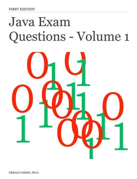 Java Exam Questions - Volume 1