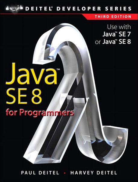 Java SE8 for Programmers, 3/e