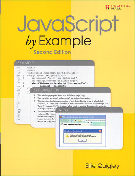 JavaScript by Example, 2/e