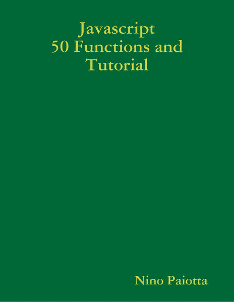 Javascript 50 Functions and Tutorial