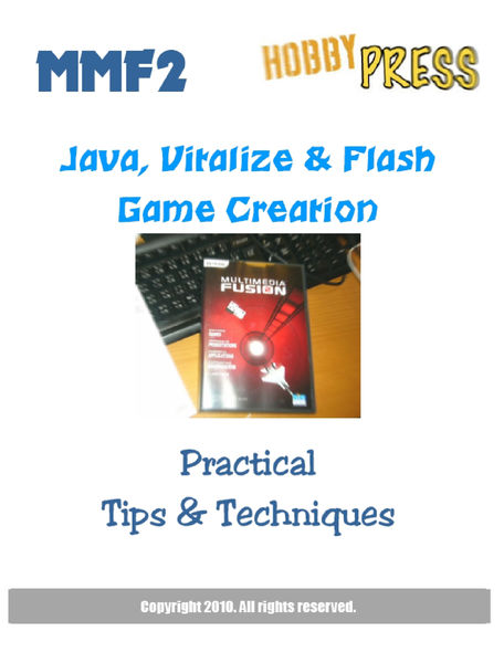 MMF2 Java, Vitalize & Flash Game Creation IPAD Edi...
