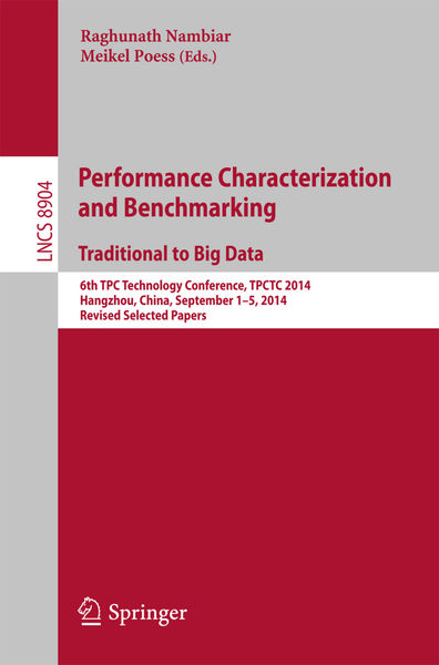 Performance Characterization and Benchmarking. Tra...