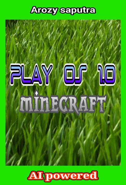 "Play OS 1.0 ""minecraft"""