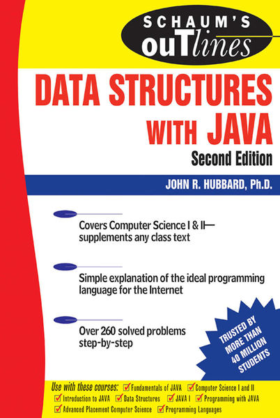 Schaum's Outline of Data Structures with Java