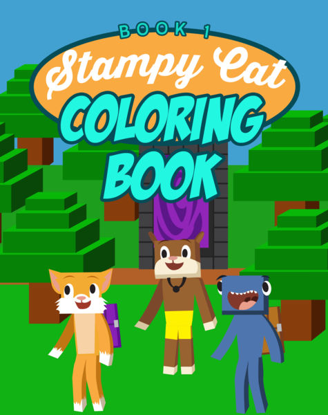 Stampy Cat Coloring Book: (Unofficial) Minecraft C...
