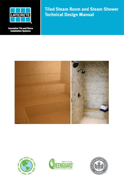 Tiled Steam Room and Steam Shower Technical Design...