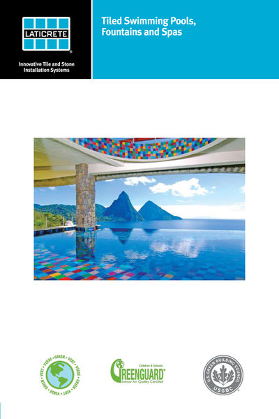 Tiled Swimming Pools, Fountains and Spas Technical...