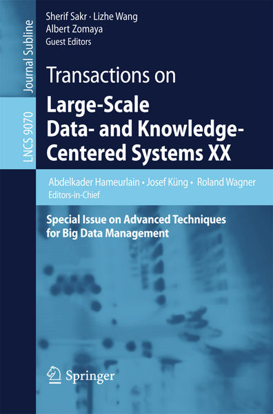 Transactions on Large-Scale Data- and Knowledge-Ce...