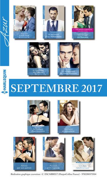 10 romans Azur + 1 gratuit (nº3865 à 3874 - Septem...