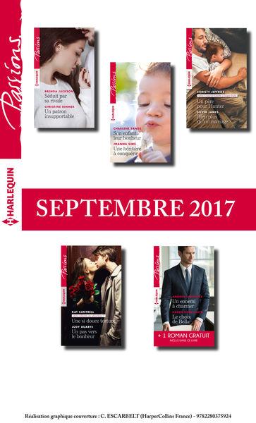 10 romans Passions + 1 gratuit (nº675 à nº679 - Se...