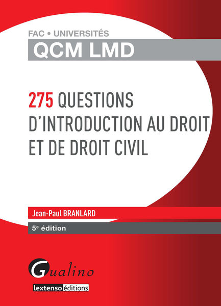 275 questions d'introduction au droit et de droit ...