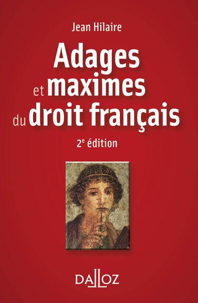Adages et maximes du droit français