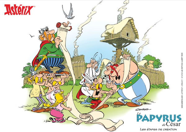 Astérix - Le Papyrus de César - nº36 - Les étapes ...