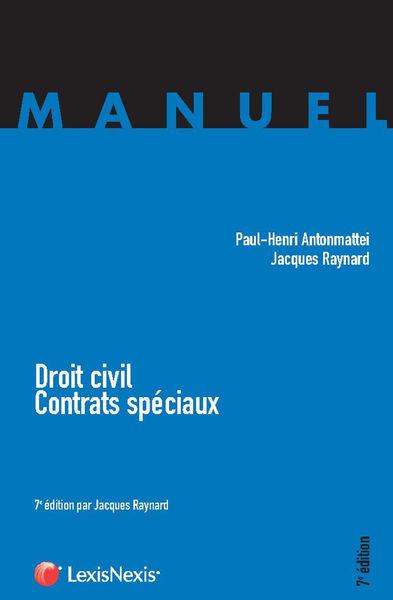 Droit civil - Contrats spéciaux