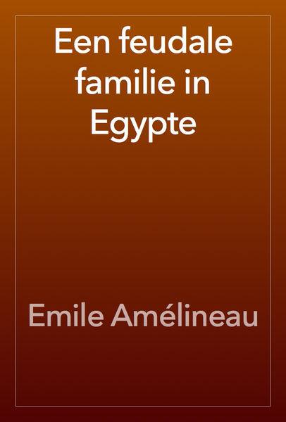 Een feudale familie in Egypte