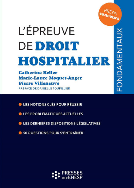 L'épreuve de droit hospitalier