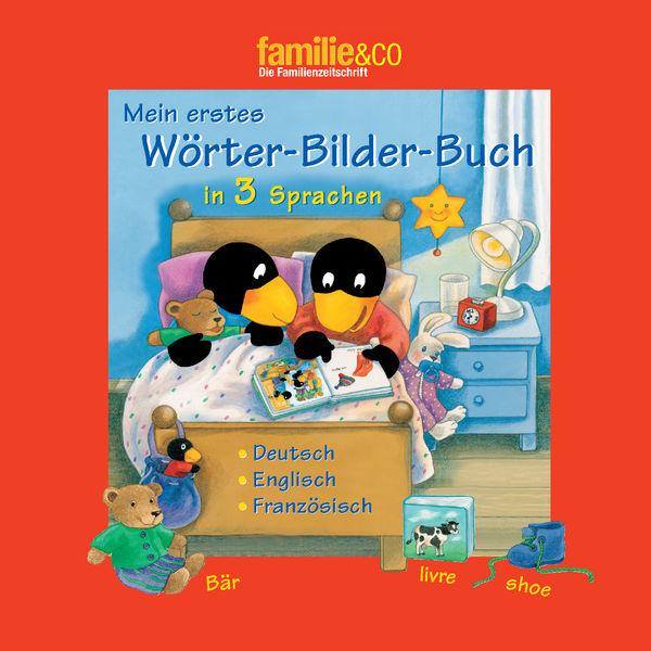Mein erstes Wörter-Bilder-Buch in 3 Sprachen  –  D...