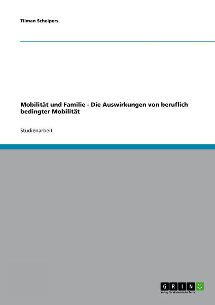 Mobilität und Familie