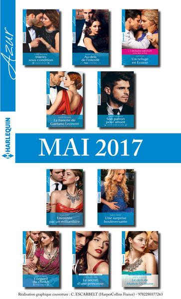 10 romans Azur + 1 gratuit (nº3825 à 3834 - Mai 20...