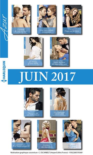 10 romans Azur + 1 gratuit (nº3835 à 3844 - juin 2...