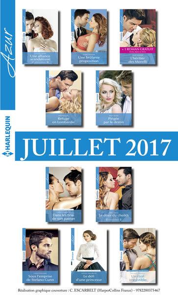 10 romans Azur + 1 gratuit (nº3845 à 3854 - Juille...