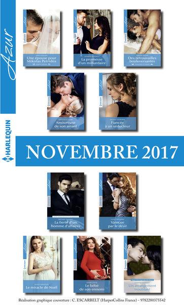 10 romans Azur + 1 gratuit (nº3885 à 3894 Novembre...