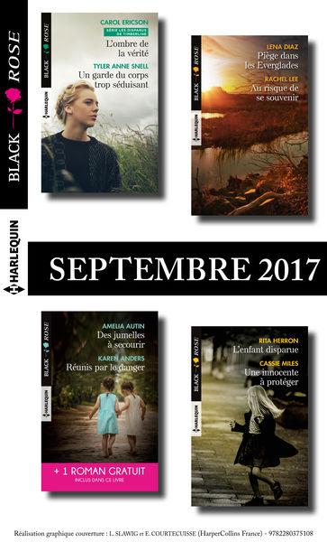 8 romans Black Rose + 1 gratuit (nº443 à 446 - Sep...