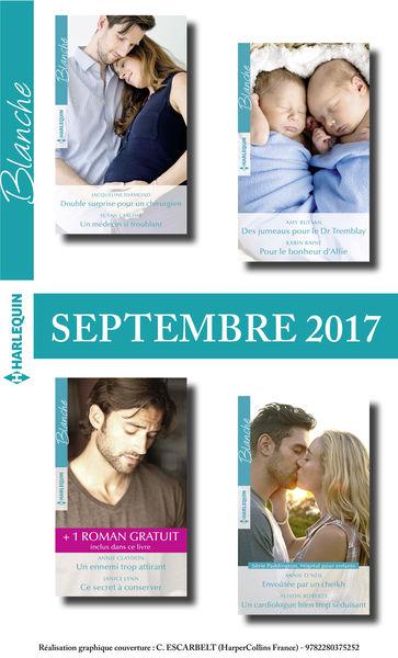 8 romans Blanche + 1 gratuit (nº1330 à 1333 - Sept...