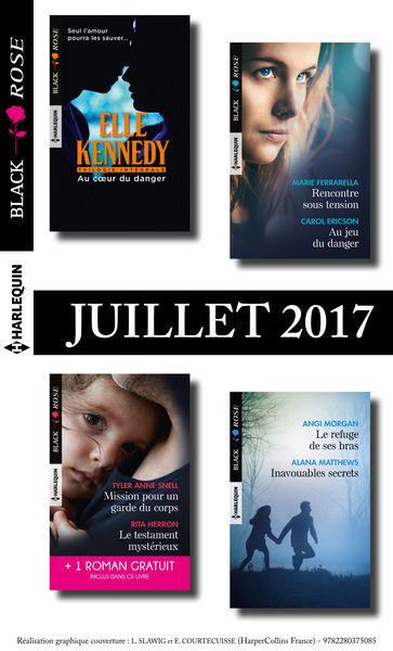 9 romans Black Rose + 1 gratuit (nº436 à 439 - Jui...