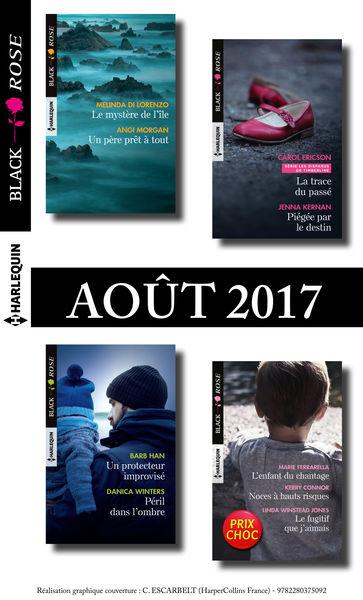 9 romans Black Rose (nº440 à 442 - Aout 2017)