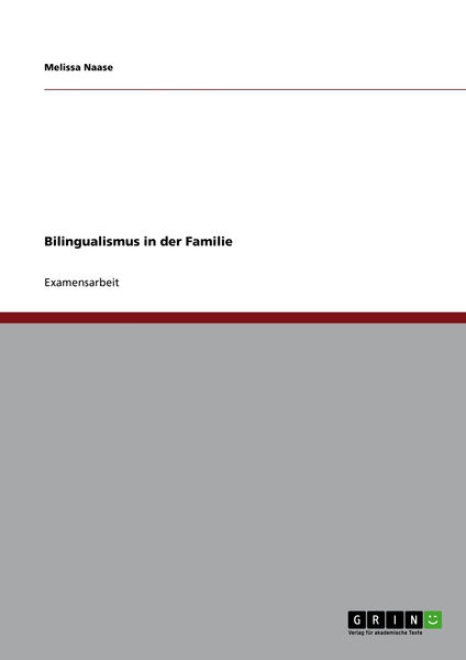 Bilingualismus in der Familie