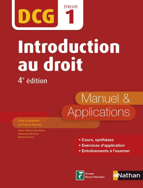 DCG 1 - Introduction au Droit 2016/2017