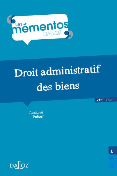 Droit administratif des biens