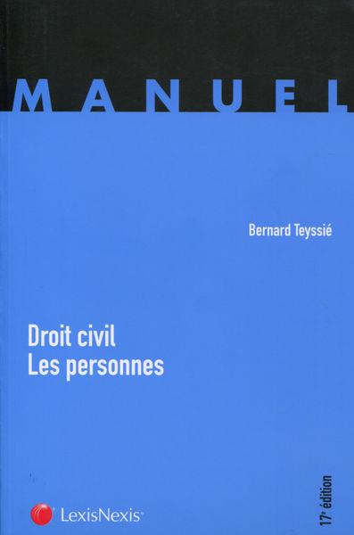Droit civil - Les personnes - 17e Edition