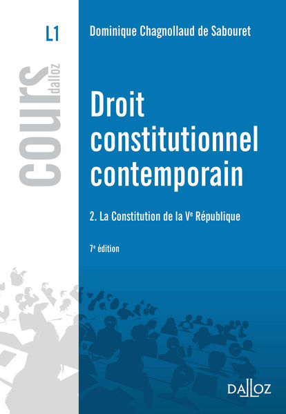 Droit constitutionnel contemporain. La Constitutio...