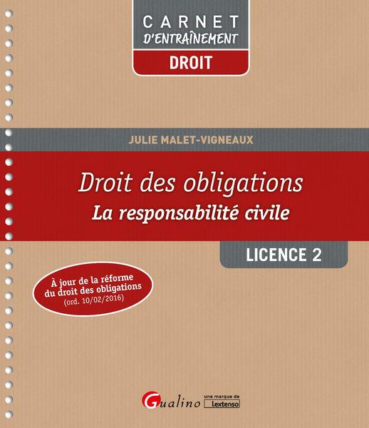 Droit des obligations - Licence 2