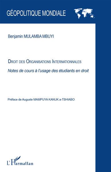 Droit des organisations internationales