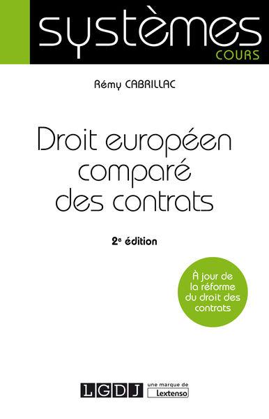 Droit européen comparé des contrats